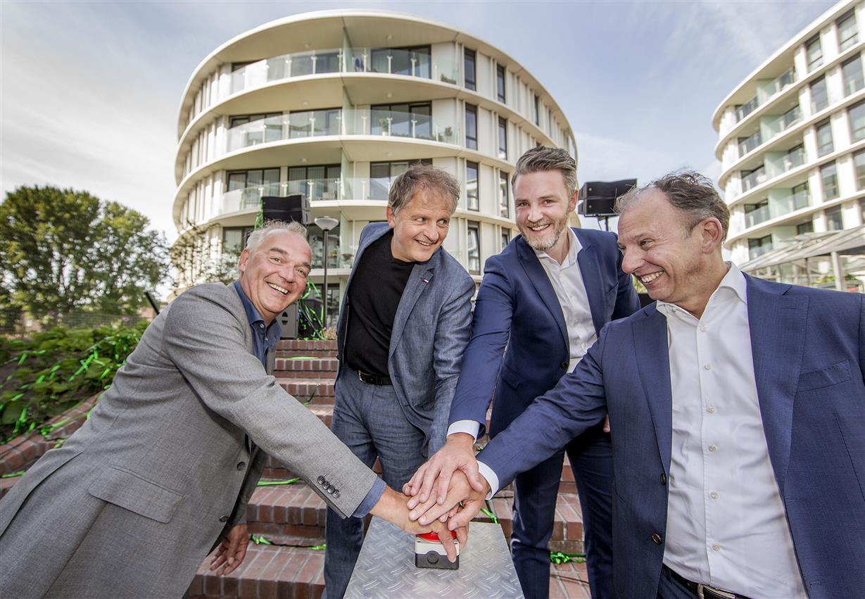 Jeroen van Berkel, Bart Mispelblom Beyer, Frank Aalbers en Paul Oremus