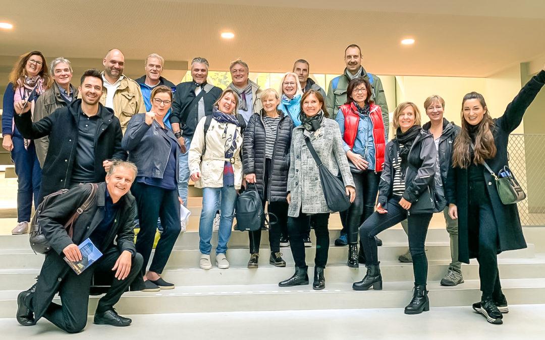 Reiter Gruppe bezoekt Cité